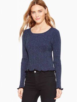 Parker Hillary Metallic Sweater