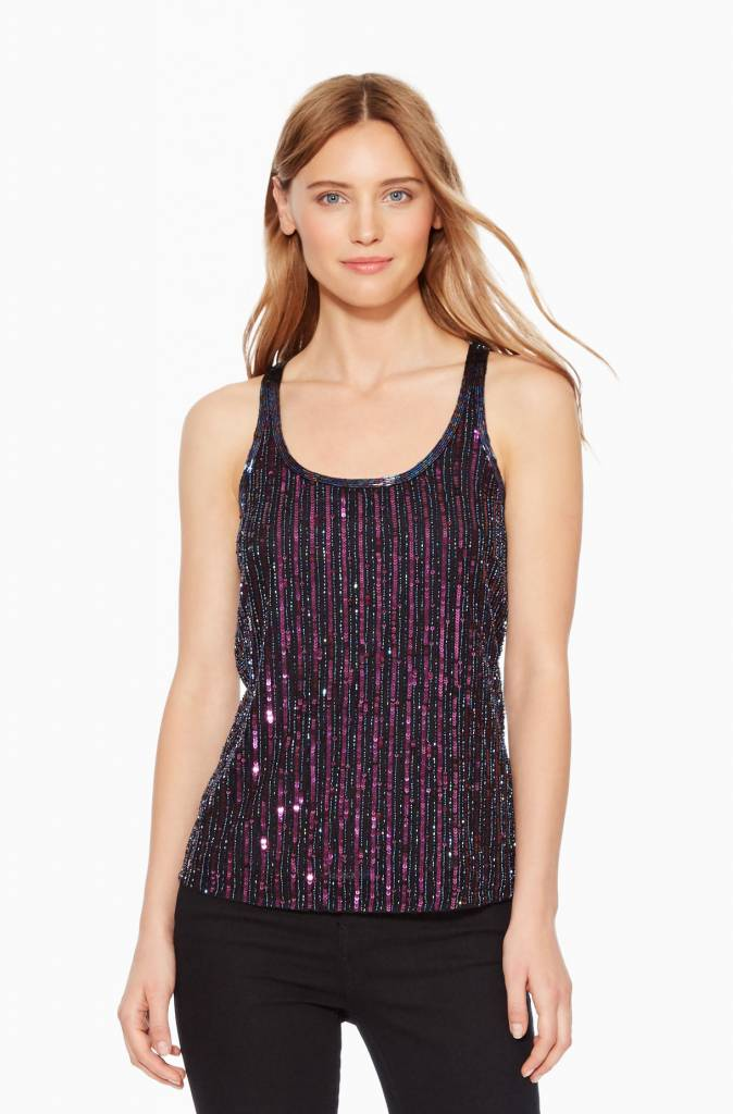 Parker Nakita Sequined Top