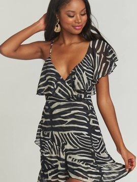 Show Me Your Mumu Santanita Mini Dress