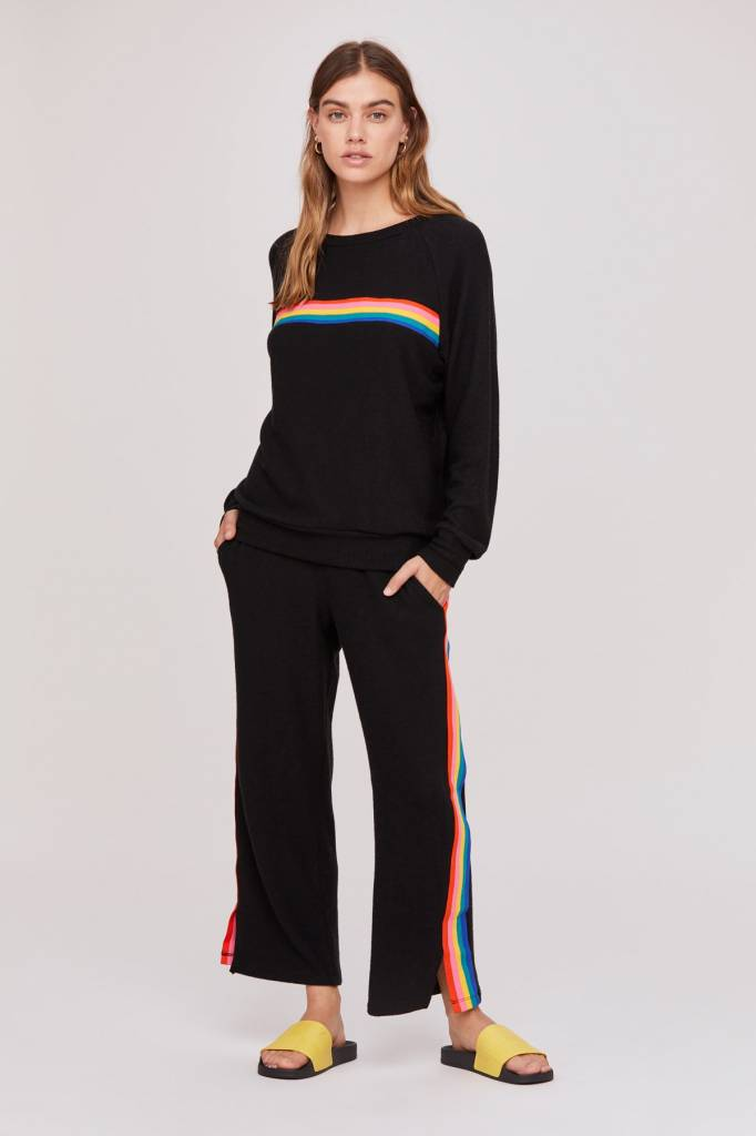 LNA Brushed Miller Pant Rainbow