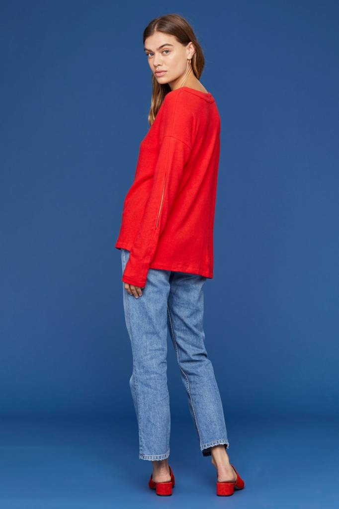 LNA Brushed Sage Sweater