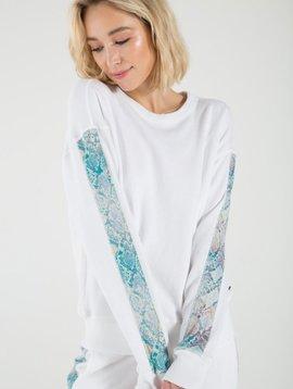 n:Philanthropy Azure Sweatshirt
