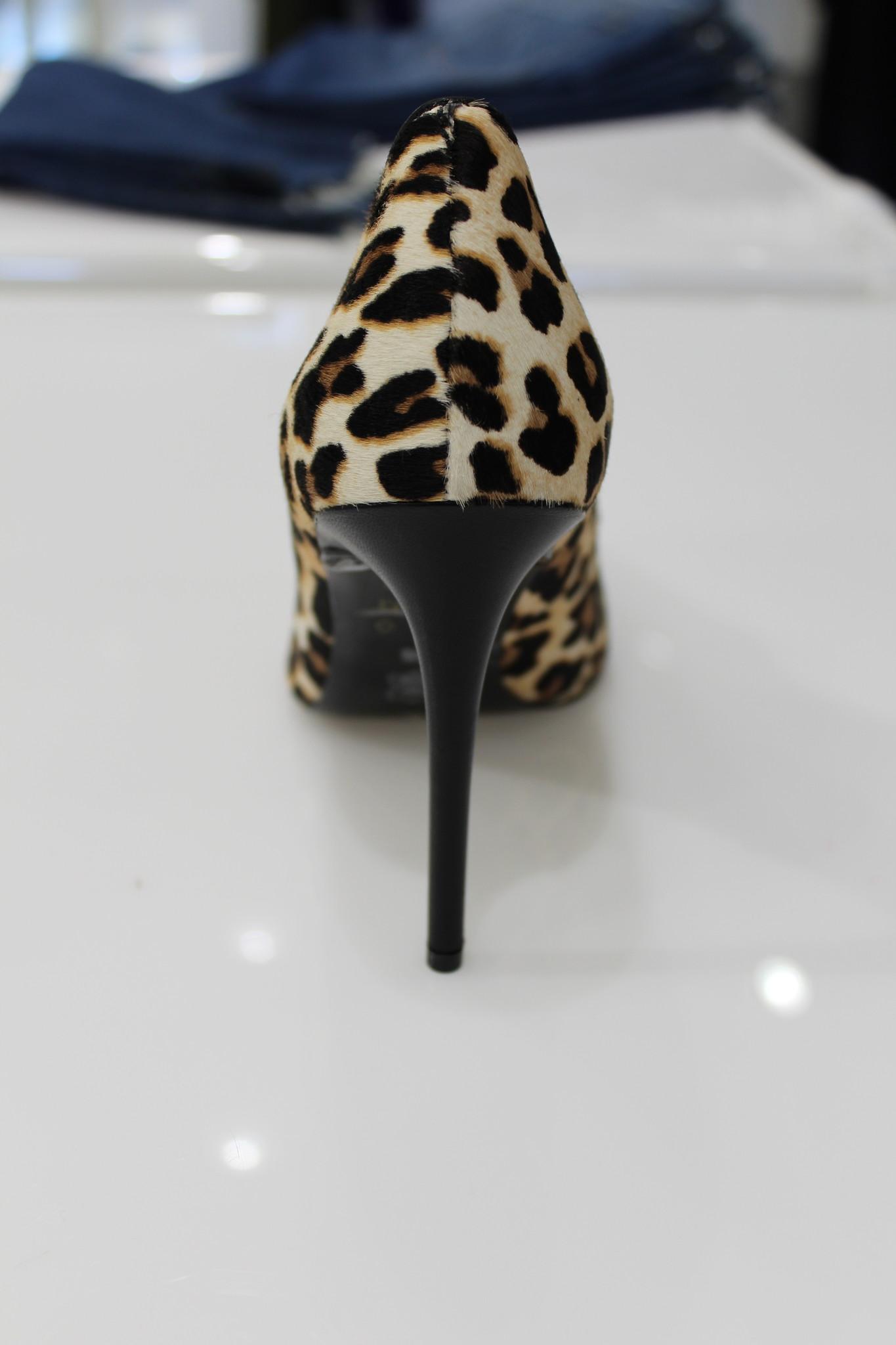 Alice + Olivia Creda Leopard Heel