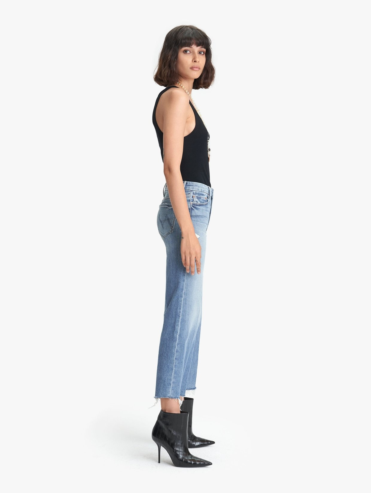 MOTHER The Pixie Roller Ankle Fray