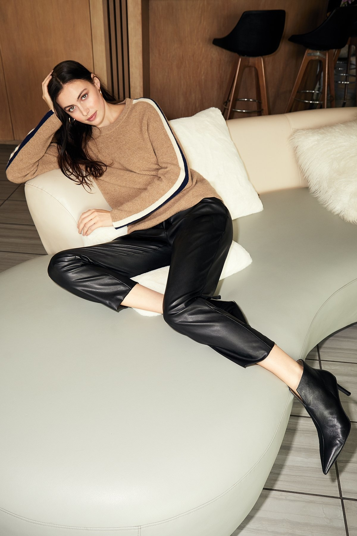 Velvet Hydie Leather Pant