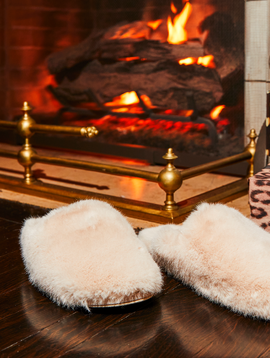 Generation Love Vegan Fur Slipper