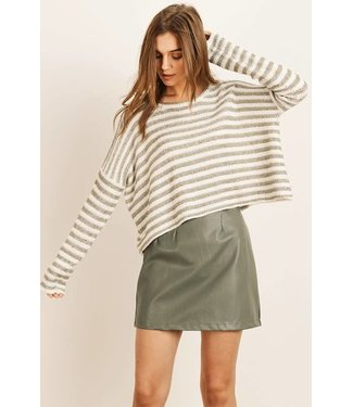The Casey Loose Fit Knit Top