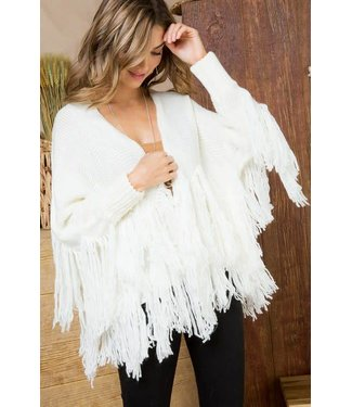 The Calliope Fring Open Sweater