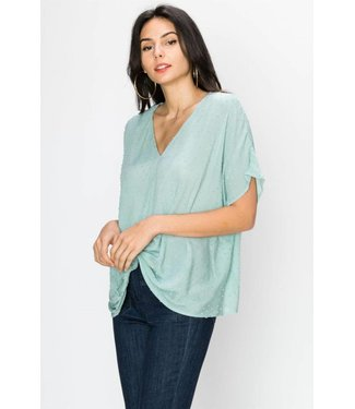 Maisy Texture Top - Also Available in PLUS