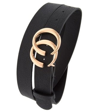 Open Circle Gucci Look A Like Belt