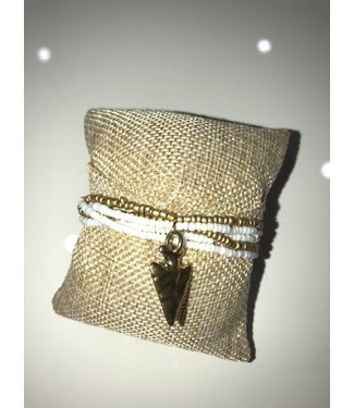 Santana Rose Arrow Bracelet