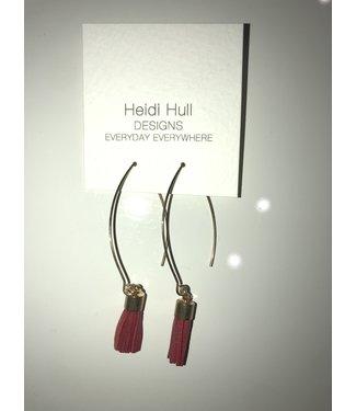 Heidi Hull E7005 Big Tassel Earrings