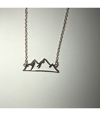 Heidi Hull Mountain Necklace N7073 Rose Gold