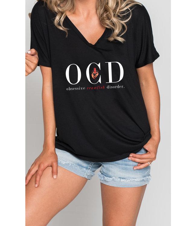 "Natty Grace Original ""OCD"" Obsessive Crawfish Disorder - NG Original Graphic Tee"