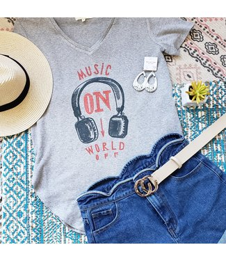Music On World Off Natty Grace Original Graphic Tee - MADE TO ORDER