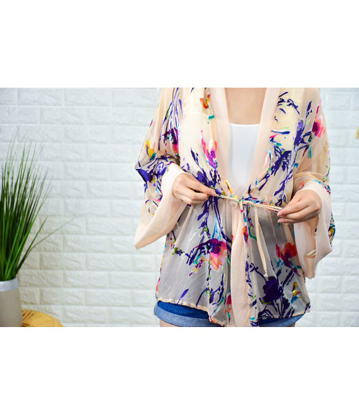 Easy Like Sunday Morning Kimono