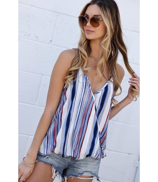 Crossing The Boundaries Spaghetti Strap Top