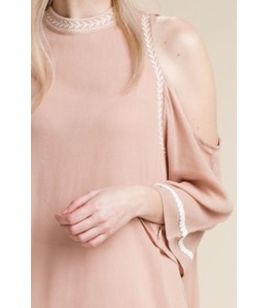 Be My Baby Cold Shoulder Top