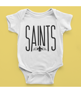 Natty Grace Original NG Original Little Fan Saints Onesie