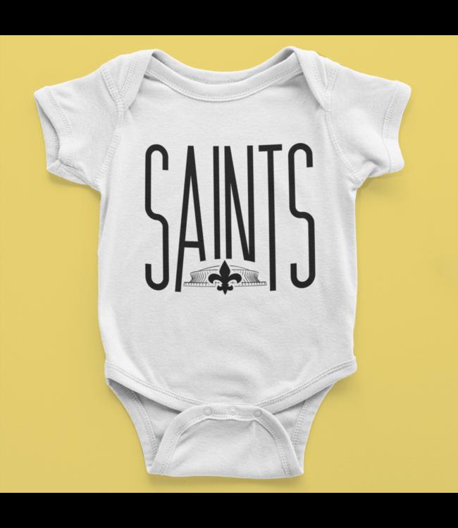 NG Original Little Fan Saints Onesie