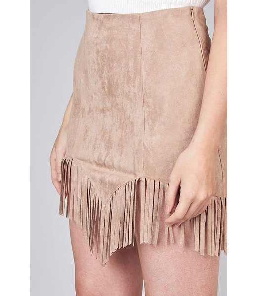 Jesse's Girl Fringe Detail Skirt