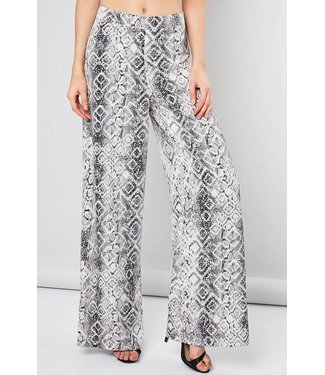 Natty Grace Sienna Snakeskin Trousers