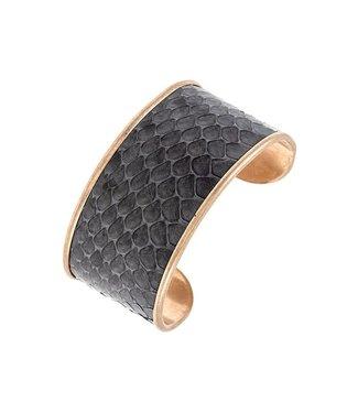 Snake Bite Cuff Bracelet