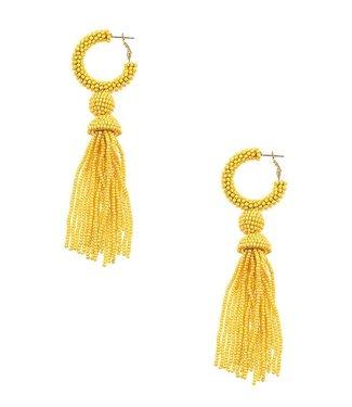 The Camila Cluster Tassel Earrings