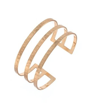 Tough Love Gold Cuff