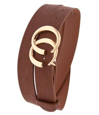 Open Circle Gucci Look A Like Belt