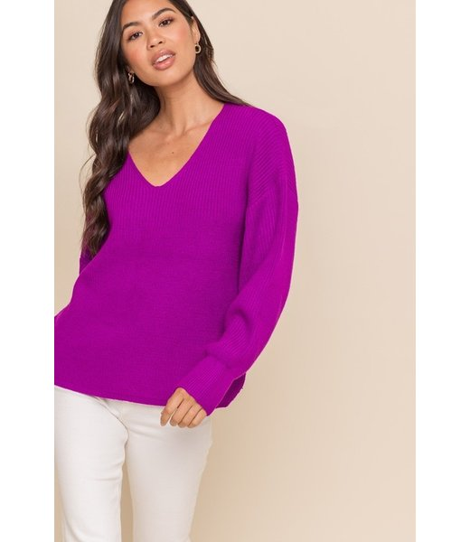 Berry & Bright Sweater