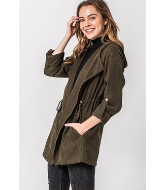 Natty Grace Fall Feelin's Hooded Jacket