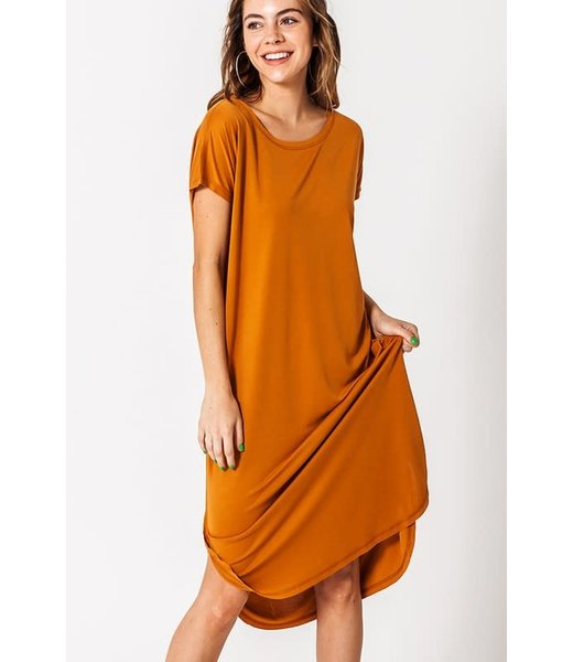 Must Have Midi Tshirt Dress