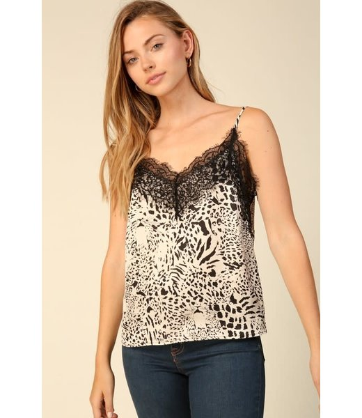 Wild Things Lace Trim Cami
