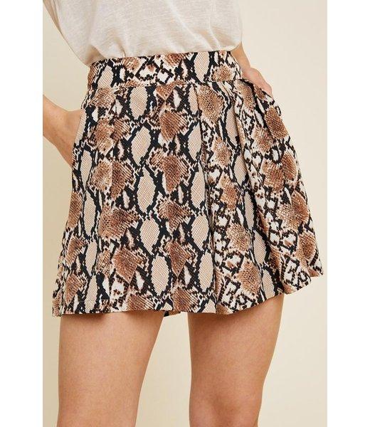 Step Aside High Waisted Shorts