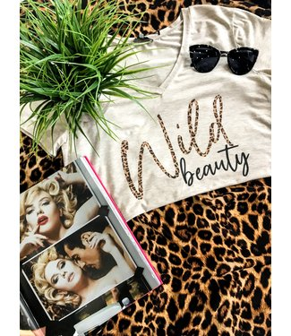 Natty Grace NG Original Wildly Beautiful Cheetah Print Tee