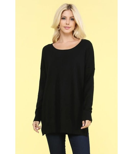 Softest Touch Tunic Sweater Top