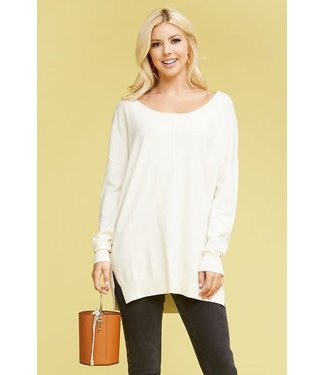 Natty Grace Softest Touch Tunic Sweater Top