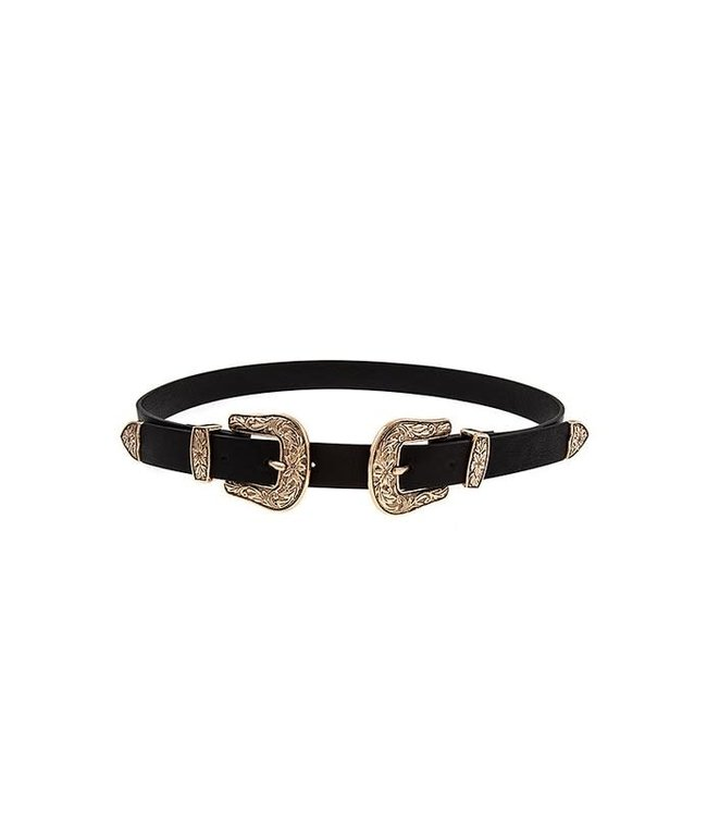 Natty Grace Double Trouble Double Buckle Belt