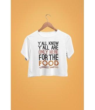 Natty Grace NG Original Here For Food #MeToo Tee