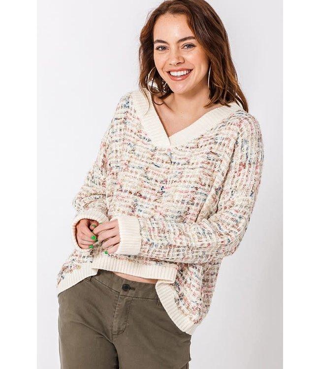 Natty Grace The Twilight Tweed Sweater
