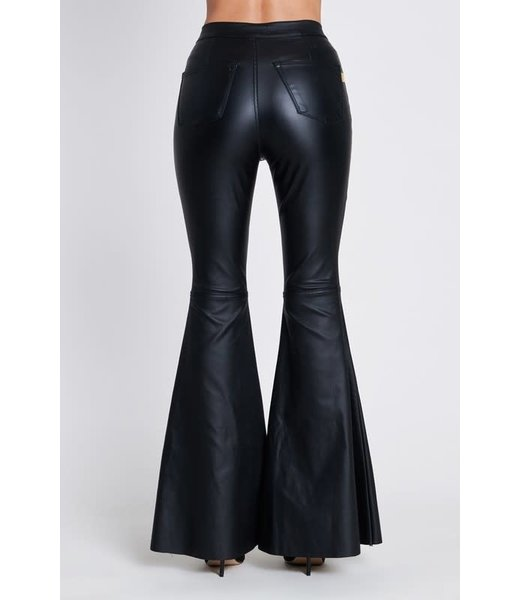 Natty Grace The Hot Topic Faux Leather Flares