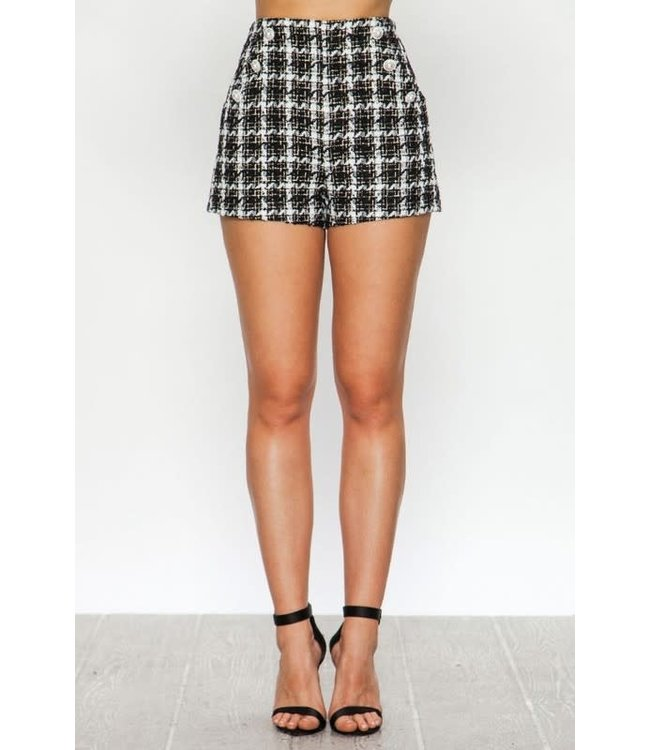 Natty Grace Tabitha Tweed Shorts
