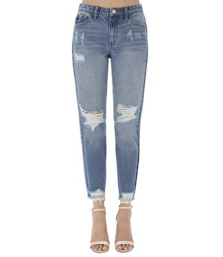 Natty Grace Ladies In The 90s Distressed Denim