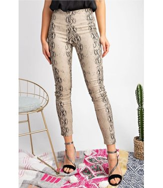 Natty Grace Snake It Off Distressed Skinnies