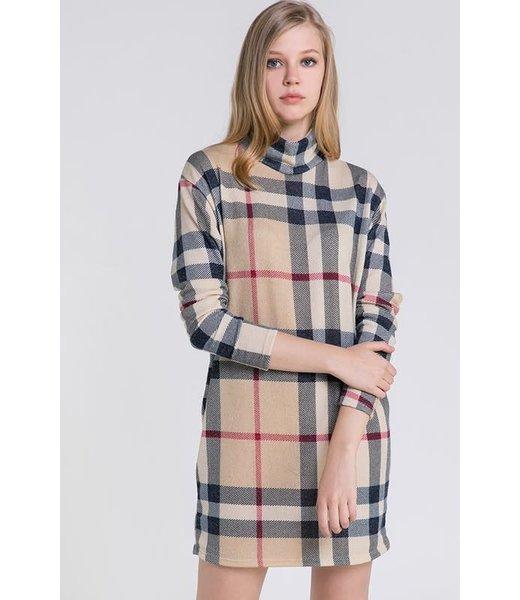 Natty Grace Get A Clue Chic Sweater Dress