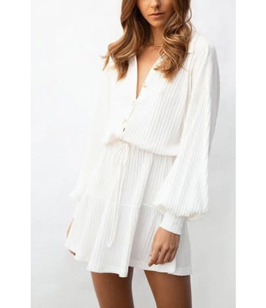 Natty Grace The Everleigh Button Up Dress