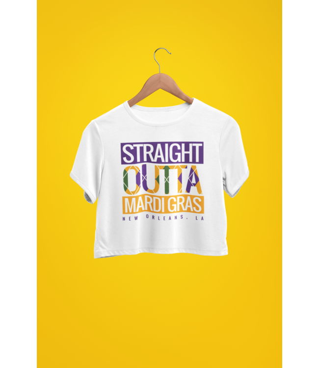 Natty Grace NG Original Straight Outta Mardi Gras Tee