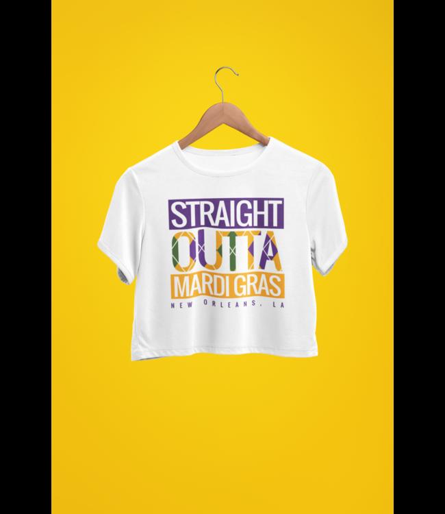 Natty Grace NG Original Straight Outta Mardi Gras Tee