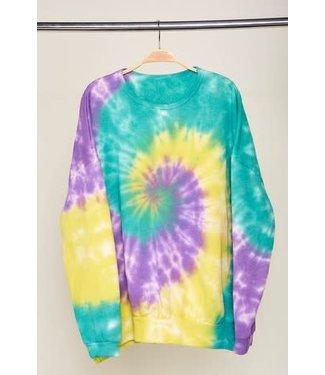 Natty Grace To Dye For Oversized Knit Top